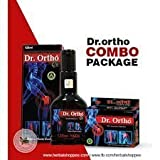 Dr. Ortho Joint Pain Oil (120 Ml) & Ayurvedic Capsules (30 Capsules)