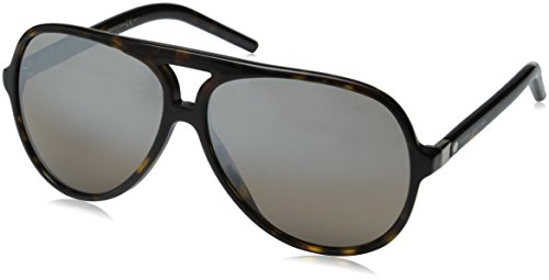 c1d0d22aa954 Marc jacobs 0827886227952 Jacobs Marc70s Aviator Sunglasses Havana- Price  in India