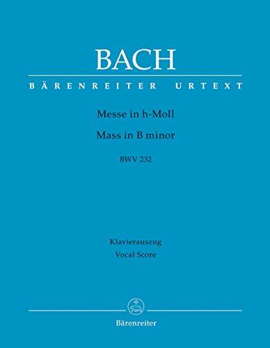 Messe in h-Moll BWV 232: Klavierauszug nach dem Urtext der Neuen Bach-Ausgabe - Revidierte Edition - 9790006539413