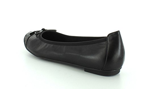 Vionic Womens 359 Minna Leather Shoes Noir