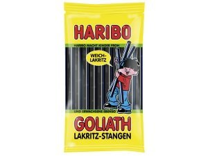 Preisvergleich Produktbild Haribo Goliath Lakritz-Stangen