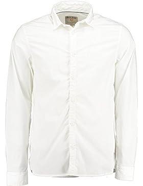 Garcia Herren Freizeithemd M61034 Gr. M (Herstellergröße:M) Weiß (white 50)