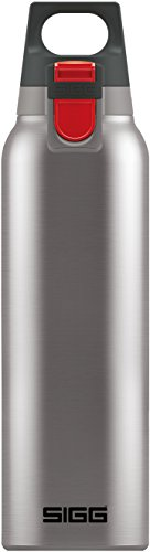 SIGG Hot & Cold ONE, 0.5L, Vakuum-isolierte Thermo-Flasche aus Edelstahl, BPA Frei (Thermoskanne Hot)