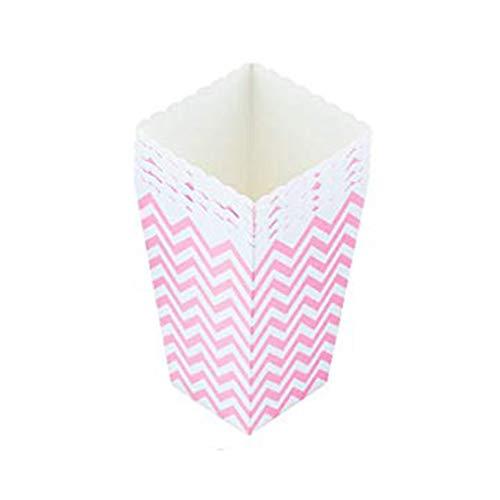 Cratone 6 Stück Popcorn Boxes Popcorn Tüte Popcorn Candy Boxen Behälter für Party Snacks Candy Süßigkeiten Popcorn und Geschenke
