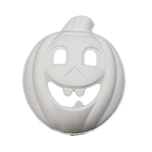 10 Stück Weiße Maske Malerei Kürbis Maske DIY Papier Maske Kostüm Maske Leere Maske
