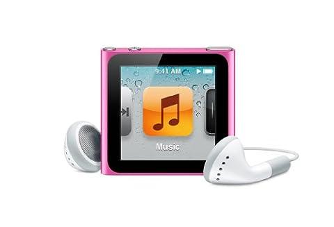 Apple iPod nano 16 Go Rose (6ème génération)