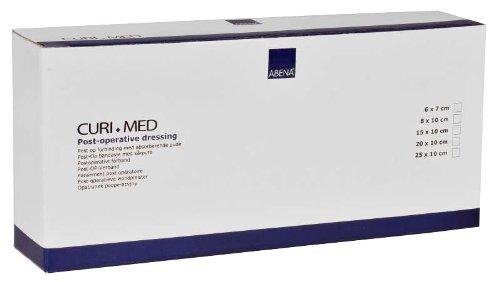 Stück Steril Post (Curi-Med - Post-OP Verband - weiß - 6 x 7 cm - steril - 100 Stück)