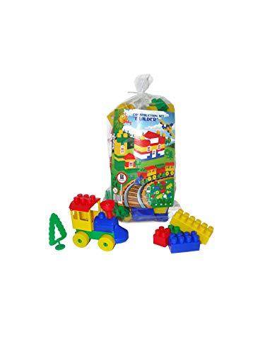 Giochi di costruzioni per i bambini 66 pezzi (pw0590) - polesie
