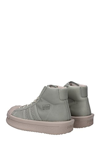 BA9765MASTODONROMILK Rick Owens Sneakers Unisex Cuir Vert Vert