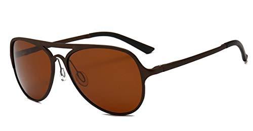 Hemio Herren Sonnenbrille Moda Sonnenbrillen Outdoor-Brille Flieger Sonnenbrille Polarisiert Fahren Sonnenbrille Reise Neu Doppelbalken