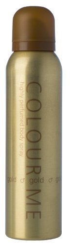 milton-lloyd couleur Me Spray Corporel, Homme Or 150 ml
