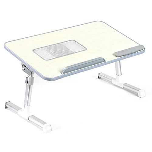 Li Jian Limited company Nachttisch/Klapptisch aus massivem Holz tragbaren Laptop Tisch klappbaren...