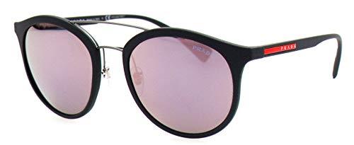 Prada Sport Herren 0PS04RS TFZ5T0 54 Sonnenbrille, Grau Rubber/Grey Pink