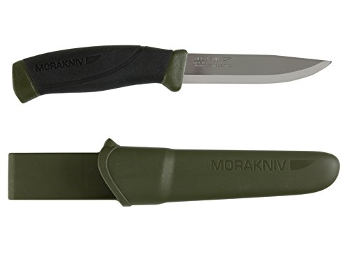 Mora Erwachsene Messer, Grün (Günstige Echte Waffen)