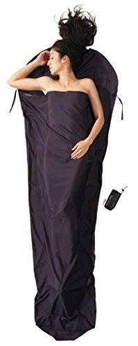 Cocoon Thermo Seidenschlafsack Mummy Liner silkweight - thermolite silk -