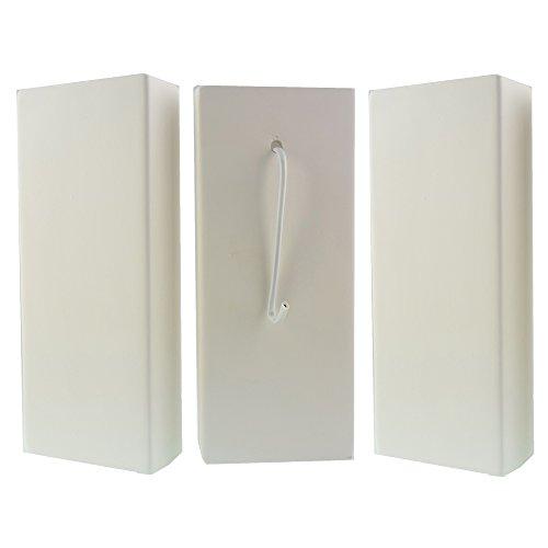 3er Set Luftbefeuchter Keramik Verdunster Verdampfer für Heizung und Heizkörper