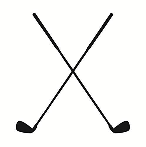 acccc Hockey Aufkleber Silhouette Große Größe Selbstklebende Vinyl Hockey Sport Spiel Putter Muster Wandaufkleber Wohnzimmer Wohnkultur 42x44 cm