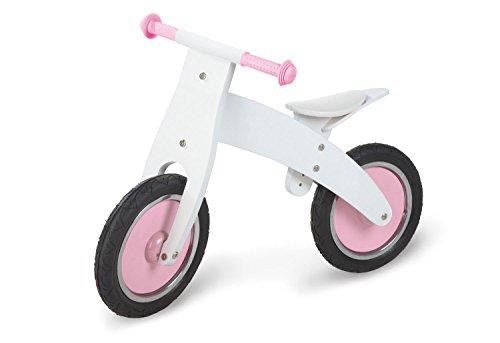 Pinolino 239455 - Bicicleta de madera Pinky sin pedales