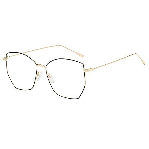 f40ba455fa Gafas de sol unisex,KanLin1986 Lente Transparente Cubierta Ultradelgada  Marco De Metal Gafas De Lectura