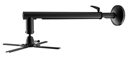 Cabletech UCH0191 Projektor/Beamer Wandhalterung Ausziehbar schwarz