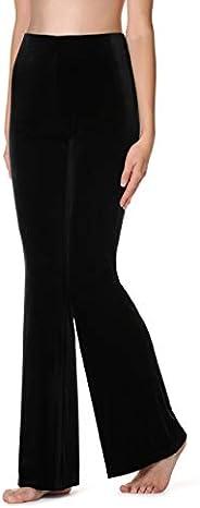 Calzedonia Womens Flare Velvet Leggings
