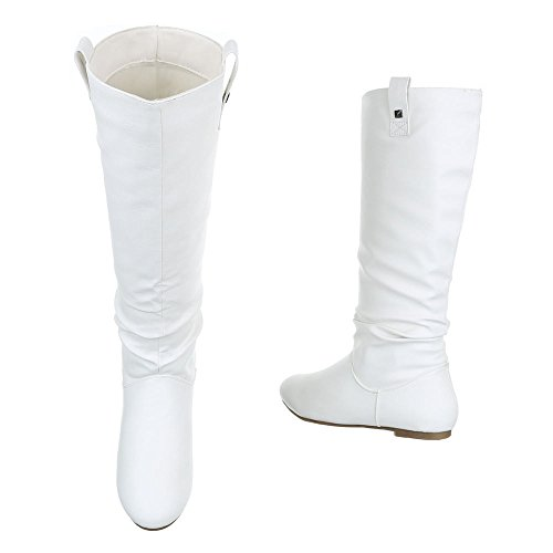 Ital-Design, Bottes pour Femme Weiß