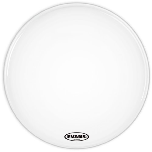 Evans BD22RSW-NP EQ3 Bassdrum-Resonanzfell ohne Loch 55,9 cm (22 Zoll) weiß