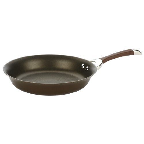 Circulon Symmetry Chocolate Hard Anodized Nonstick 11-Inch French Skillet by Circulon Non-stick-11