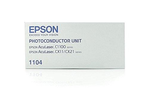 Preisvergleich Produktbild Original Bildtrommel kompatibel zu Epson Aculaser CX 21 NFT,  1104,  C1100 51104 C13S051104 S051104,  Premium Trommel,  Farblos
