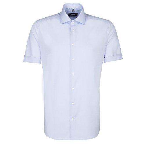 Seidensticker Camicia classiche - Basic - Classico - Uomo Blau