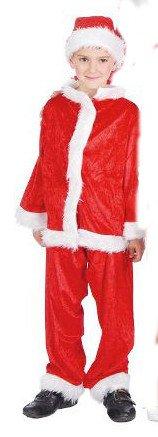 Kostüm Amor Baby - Santa Claus Baby Kleid 7-9 Jahre