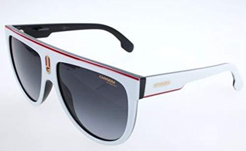 Carrera Unisex-Erwachsene FlagtopCCP-9O Sonnenbrille, Weiß (White), 60