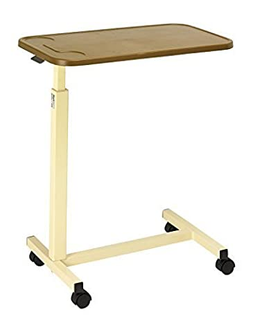 Days Height Adjustable Overbed Table with Plastic Top by Days