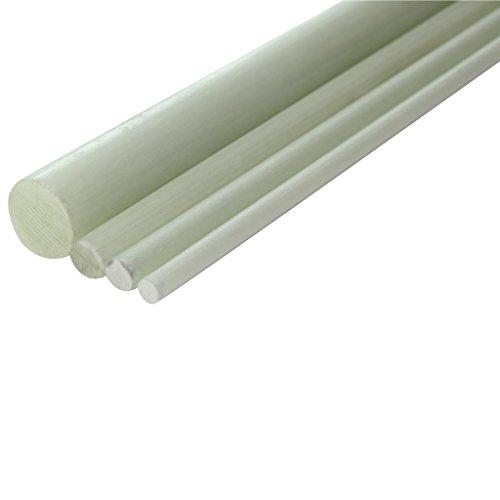 GFK Glasfaser Stab 3 mm pultrudiert Länge 1000 mm Glasfaserstab Glasfaserstäbe Glas Faser