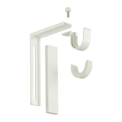 IKEA BETYDLIG - Soporte de pared / techo, blanco