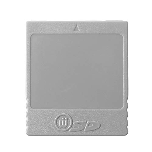 SD Flash-Speicherkarte, Kartenleser Konverter Adapter Slot für Wii NGC Nintendo Gamecube Spielekonsole Zubehör