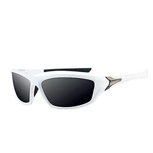 HUILIN Classic Polarized Sunglasses Herren Cool Retro Herren Sonnenbrille Brille, C05