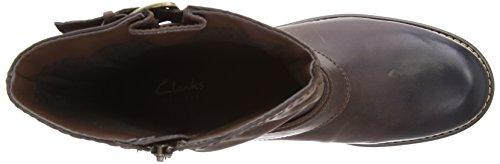 Clarks - Stivali Orinocco Jive, Donna Marrone (Braun (Brown Leather))