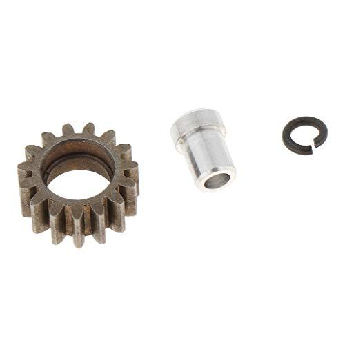 Homyl 15T Metall Zahnräder Motorrad Getriebe Ritzel für Motor Pinion Gear 1/10 RC Car Brushed Brushless Motor