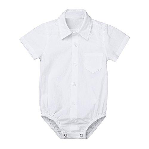 TiaoBug Bebés Mameluco Algodón Conjunto Monos Camisa