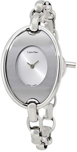 Calvin Klein K3H2 M126 – Watch For Women Silver Stainless Steel Strap