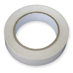 2 Rolls Of STRONG DOUBLE SIDED Sticky Tape 25mm x