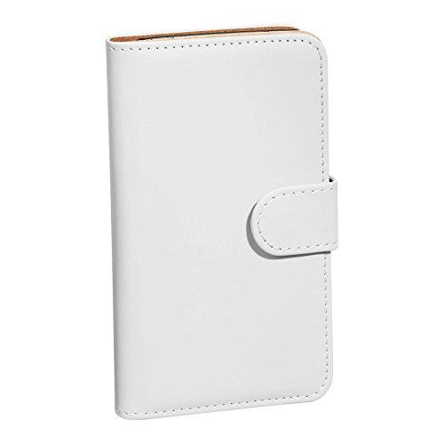 PEDEA Book Cover Premium pour Apple iPhone 6 Plus, Lavendel - s'adapte iPhone 6 Plus Weiß