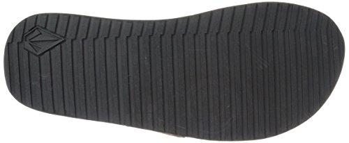 Volcom Herren Sandalen Recliner Leather Sandalen Braun