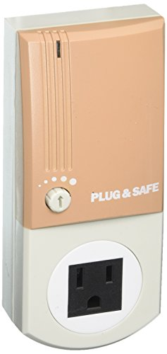 Plug & Safe PS8 Home Security System, Taupe
