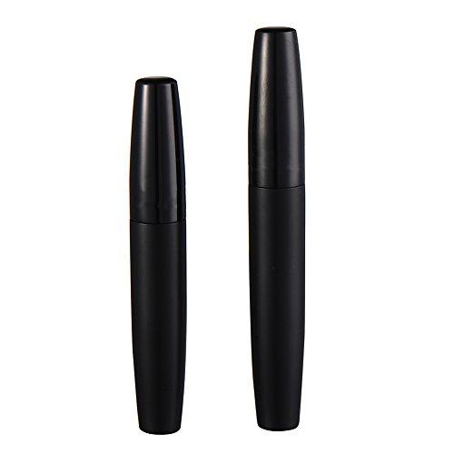 Maquillage Professionnel imperméable Deluxe 2 cils longue friser 3D en fibre Mascara cils Beauté Noir