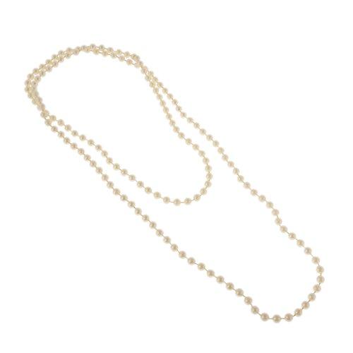 Blesiya 1920er Jahre Zubehörset Kostüm Charleston ausgefallene Accessoires-1920er Jahre Perlenkette (1920er Jahre Perlenkette)