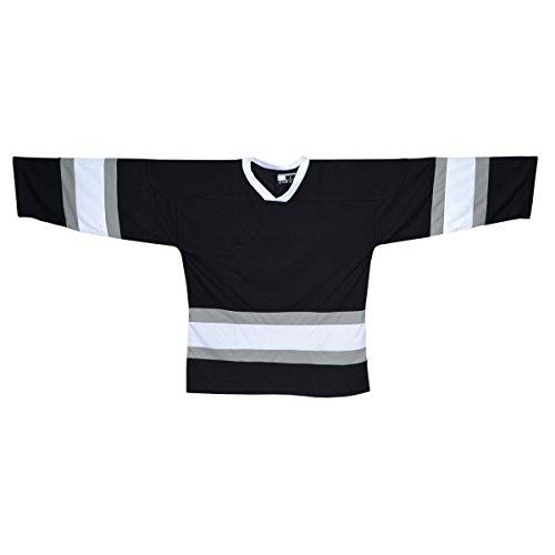 SHER-WOOD NHL Style Trikot - LA, Größe:XXL;Farbe:schwarz
