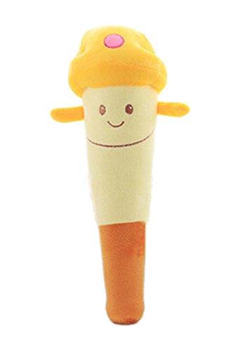2 Stück Rückenmassage Spielzeug Plüsch Spielwaren Puppe, Gelb Pilz (Bindegewebsmassage Massieren)