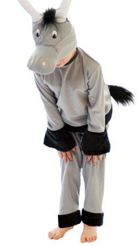 Henbrandt - Kostüm Kleinkind Esel Krippenspiel Kostüm - 3 Jahre